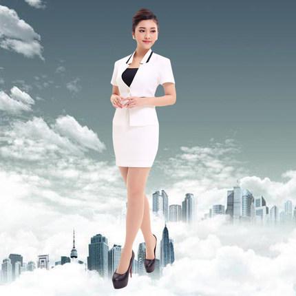 2015 frete grátis verão mulheres Sexy de moda estilo escritório Ladies saia ternos preto carreira uniforme excelente desgaste do trabalho