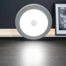 ICOCO New Arrival 6 LED PIR Body Motion Sensor Activated Wall Light Night Induction Lamp For Closet Corridor Cabinet