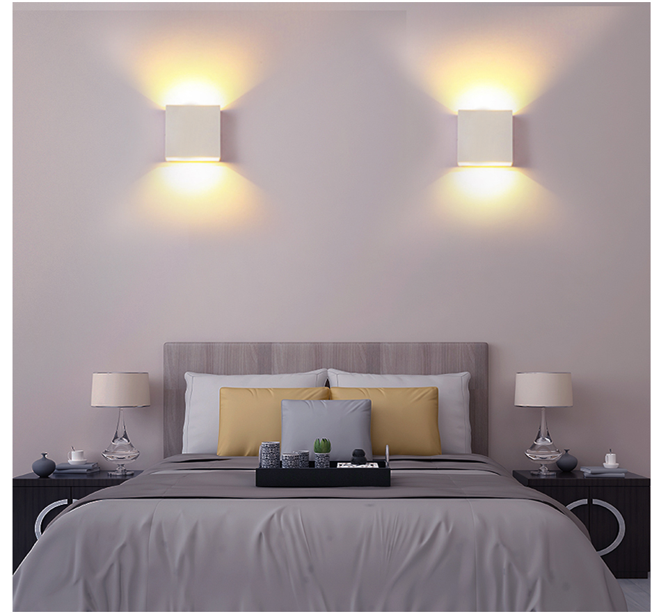 LED Diode Wall lampada  For Bedroom Living Room (11)