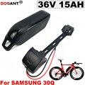 Перезаряжаемый Электрический велосипед литий-ионный аккумулятор 36В 15ач для Bafang 500 Вт 800 Вт Мотор 10С 36В батарея + USB + переключатель бесплатная...