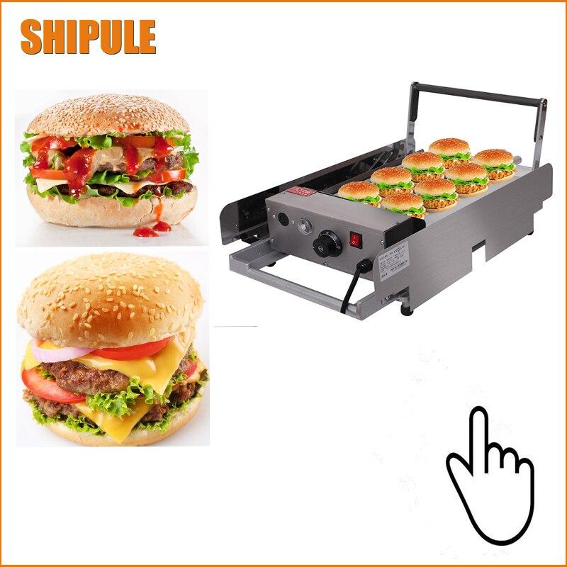 2018 Reasonable price  stainless steel hamburger bun toastor steak2018 Reasonable price  stainless steel hamburger bun toastor steak