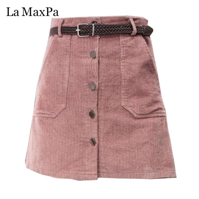 2019 primavera outono saia de veludo senhoras moda saias de cintura alta feminina casual moda preto khaki rosa mini saias mujer