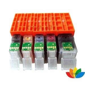 Image 2 - 5 Color Compatible PGI 450 CLI 451 Ink cartridge For Canon PIXMA IP7240 MG5440 MG6340 MX924 MG7140 MG6440 MG5540 Printers
