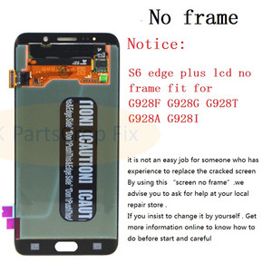 """Image 3 - For Samsung Galaxy S6 Edge Plus LCD G928 G928F Display Touch Screen Assembly Replacement For 5.7"""" SAMSUNG S6 Edge Plus LCD+frame"""