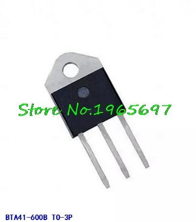 5pcs/lot BTA41-600B BTA41600B BTA41 BTA41-600B Triacs 40 Amp 600 Volt TO-3P New Original In Stock