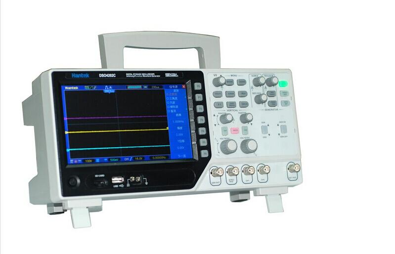 Hantek DSO4072S USB Oscilloscopes 2CH 1GSa/s 25Mhz DSO4072 Automotive Arbitrary/Function Waveform Generator DDS 800x480 original hantek1025g pc usb function arbitrary waveform generator 25mhz arb wave 200msa s dds usbxitm interface hantek 1025g