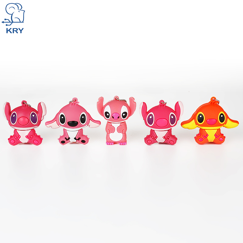 KRY cartoon USB flash drive animal series memory stick usb2.0 4GB 8GB 16GB 32GB 64GB not ...