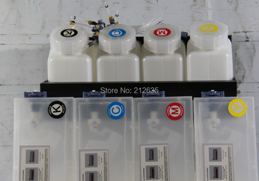 4color CISS ink system for large format printer Roland VS640 printer (4tanks+4cartridges)