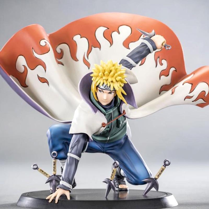 14cm Anime Naruto Shippuden Yondaime Hokage Namikaze Minato Figure PVC Action Figure Collection Model Toy Figurine 2019 New