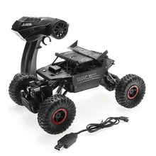 Flytec 9118 1/18 4WD 2.4GHz Rock Crawlers Rally climbing Car Bigfoot Car Remote Control Model Off-Road Vehicle Toy