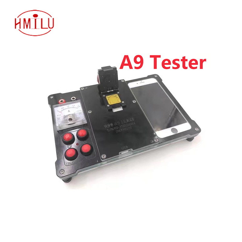 New for iphone 6 6s plus 6p 7 A8 A9 Cpu testing ic chip Test stand Tester Good or bad Tools Maintenance test fixture the new usb integrated circuit tester 7440 series ic analog chip can determine whether the logic gate is good or bad