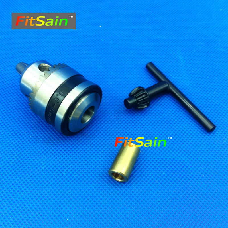FitSain--B10 mini drill chuck Used for motor shaft 3.2mm,4mm,5mm,6mm,6.35mm,8mm for electric hand drill machine tools pcb drill fitsain ball bearing 775 motor 24v 7000rpm mini pcb hand drill press nail b10 drill chuck 0 6 6mm electric drill