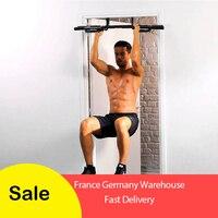 Total Upper Body Adjustable Indoor Horiztonal Fitness Workout Bar