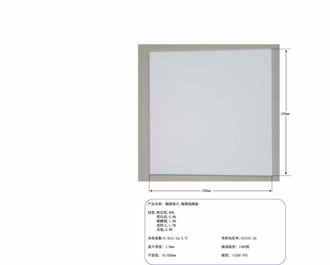 все цены на Ceramic substrate, alumina substrate, ceramic circuit board, 100x100 ceramic chip, 1mm ultrathin ceramic chip онлайн