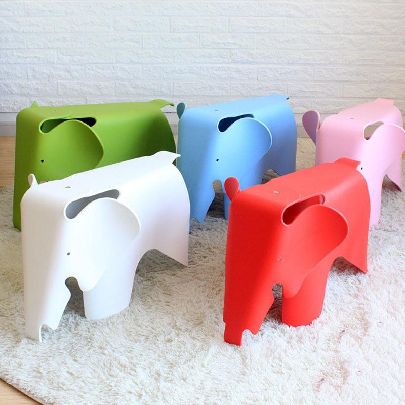 ch recibido por los nios elefante nios pp silla de plstico silla de comedor de los