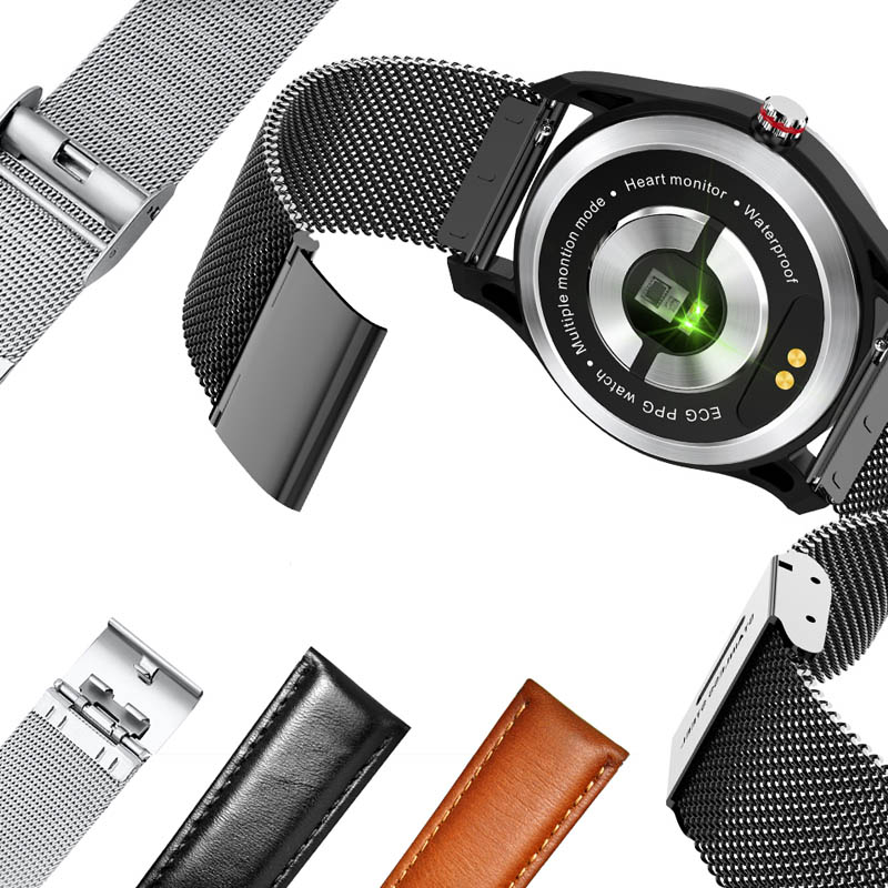 Image 4 - MAFAM smart watch men women blood pressure ECG heart rate monitor smartwatch fittness tracker IP68 smart band android IOS watch-in Smart Watches from Consumer Electronics