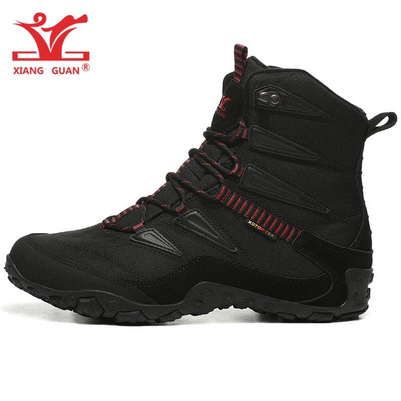 Man Hiking Shoes Men Outdoor Camping Tactical Boots Designer Snow Waterproof Sport Climbing Mountain Hunting Trekking