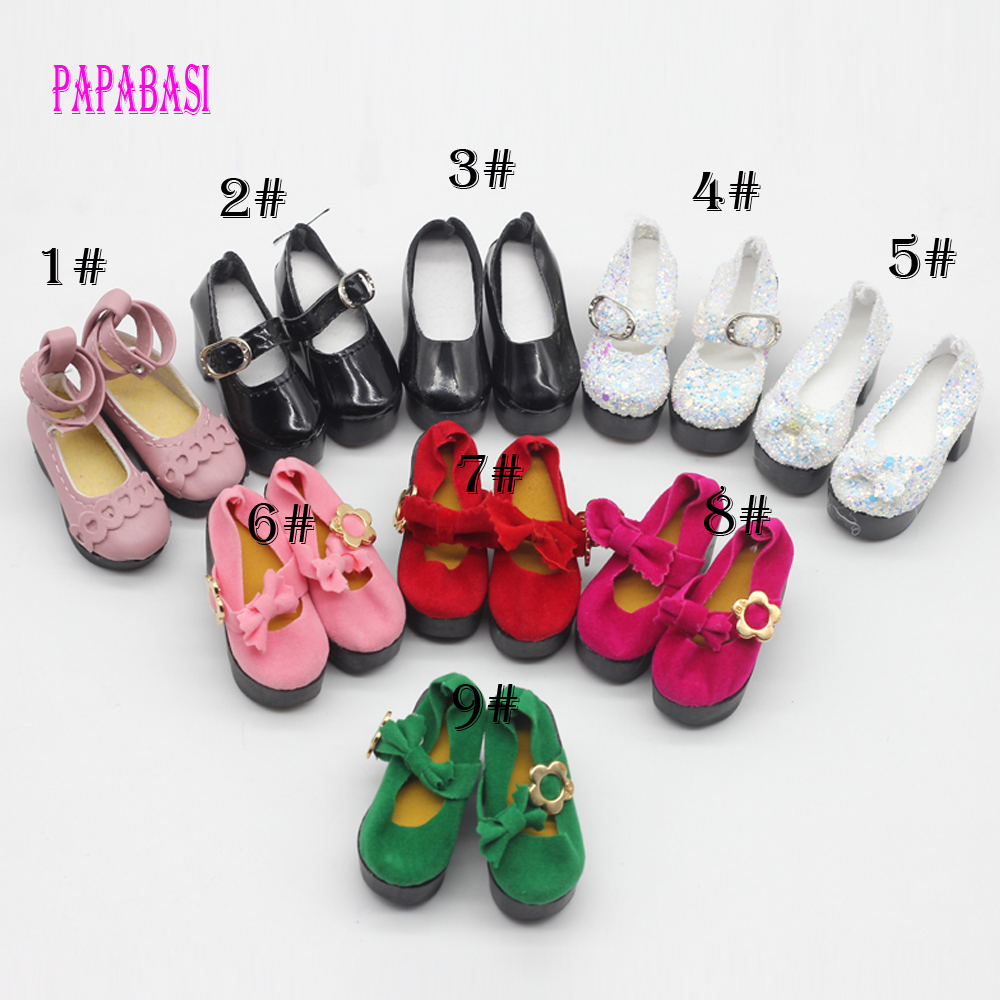 Newest Style 6.3*2.5CM 1/4 Bjd Shoes LOVELY Doll Shoes Msd SD BJD Shoes Doll Accessories