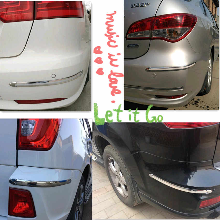 Amortiguador para bordes de coche, protección de la esquina de la decoración de para ford focus 3 kia sportage 2017 toyota chr skoda octavia suzuki jimny