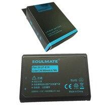 SOULMATE LP-E10 lithium batteries pack LP E10 Digital Camera Battery LPE10 For Canon 1100D 1200D 1300D Rebel T3 T5 KISS X50 X70