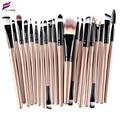 FRESHING 2016 New Professional 20pcs NAKED Makeup Brushes 4 5 3 Essential Kit Foundation Powder Make up Brush Set Tools