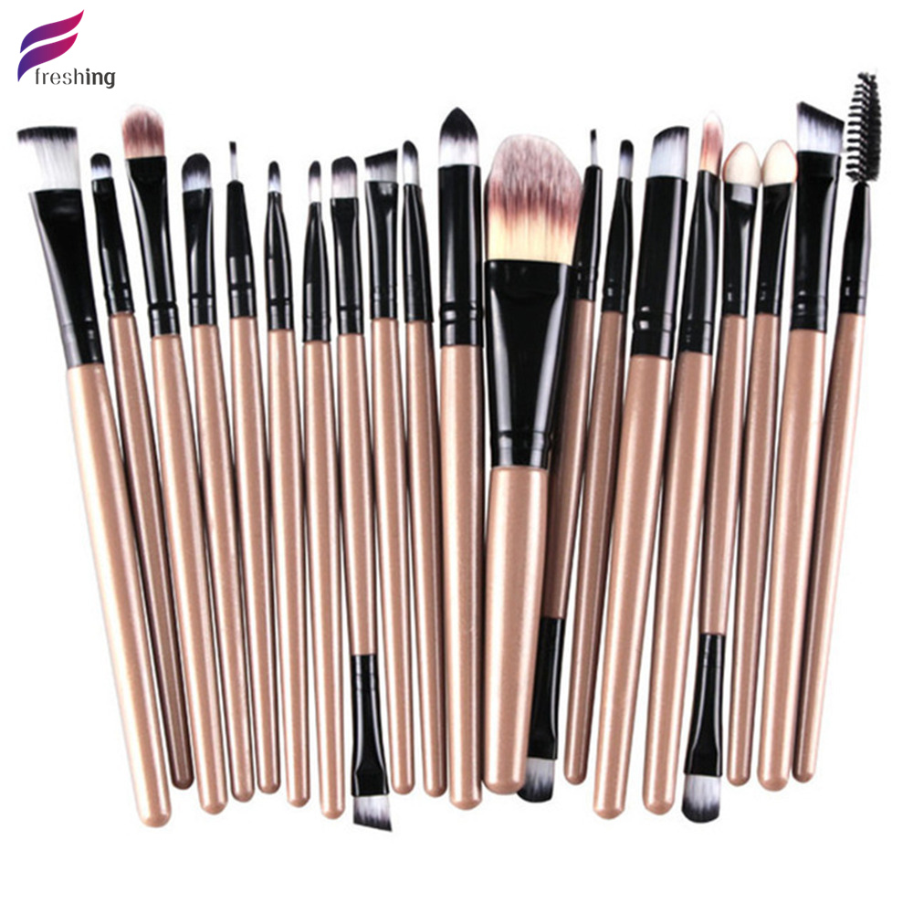 FRESHING 2016 New Professional 20pcs NAKED Makeup Brushes 4 5 3 Essential...