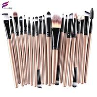 FRESHING 2016 New Professional 20pcs NAKED Makeup Brushes 4 5 3 Essential Kit Foundation Powder Make