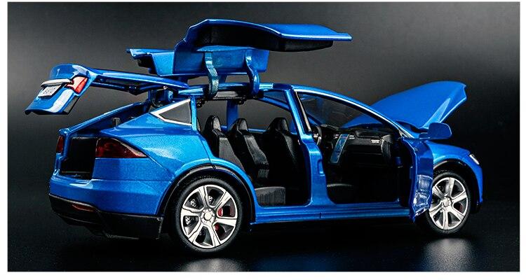 Tesla Model X Model Car 14
