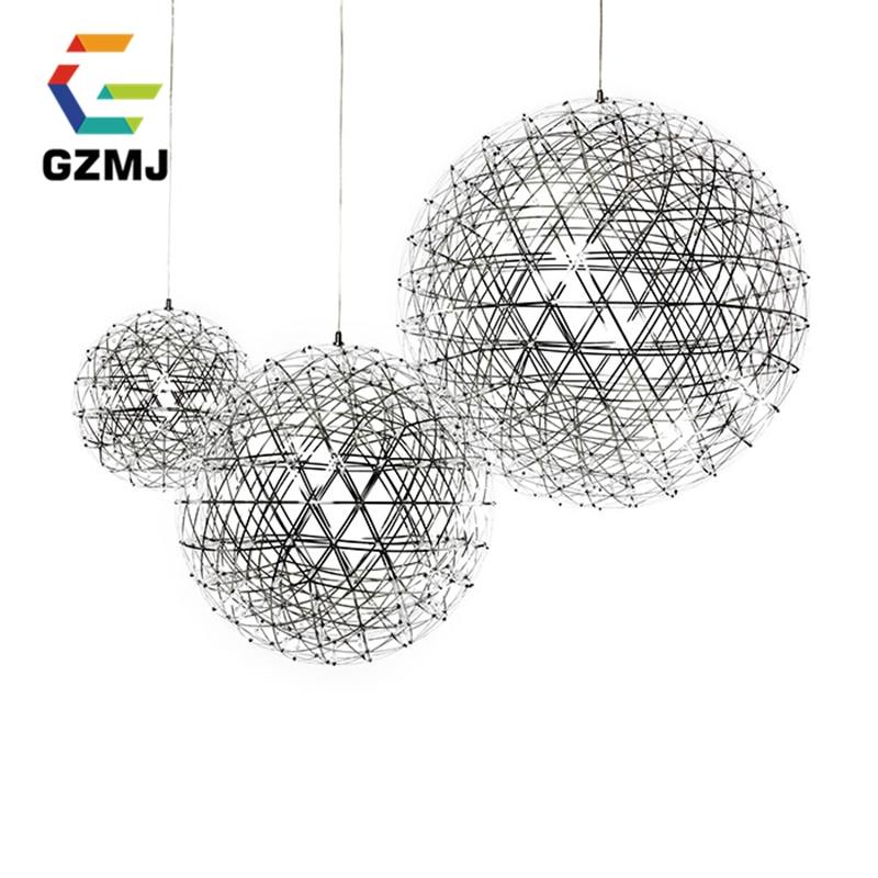 Creative Modern Fireworks Sky Star LED Art Pendant Lights Pendant Lamps  Lustre Luxury Modern Design Lighting Fixtures Office
