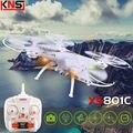 Envío gratis Original XS801C RC Drone puede añadir HD 2MP cámara 2.4 G 4CH 6-Axis Quadcopter sin cabeza helicóptero VS X5SC H8C H12C H16