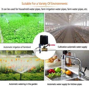 Image 4 - BOAZ Smart WiFi Irrigation Controller Garden Water Valve Ga Gas Valve Wireless Shut Off Timers Compatible with Alexa/Google Home
