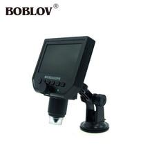 Cheap price BOBLOV HD 3.6MP CCD 600X USB Electronic Microscope Lcd Digital Video Microscope Camera 4.3″LED Light Endoscope Magnifying Camera