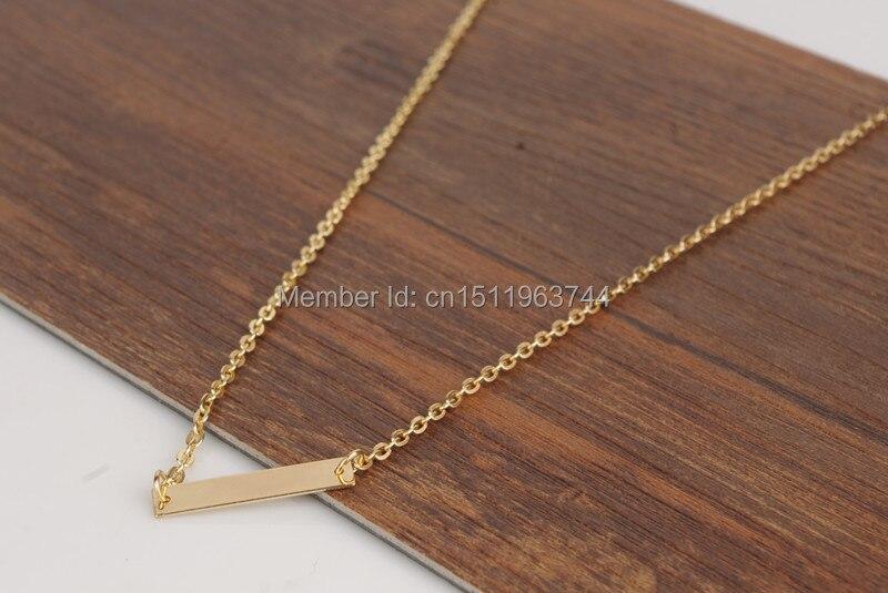 3 шт. Новые простые Ким Кардашьян металлические блестки золотого цвета ключицы цепи колье ожерелье для bijoux женщин NK0007