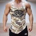Cuerpo de ingenieros hombres tank tops ejército camo camuflaje hombres chaleco singlets stringer culturismo fitness clothing camiseta sin mangas