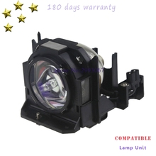 ET-LAD60 Replacement lamp with housing for PANASONIC PT-DZ6710EL  PT-D6000LS  PT-DW6300  PT-DW6300ES  PT-DW6300LS  PT-DW6300ELS et lal320 for pt lx300 pt lx270 original lamp with housing free shipping