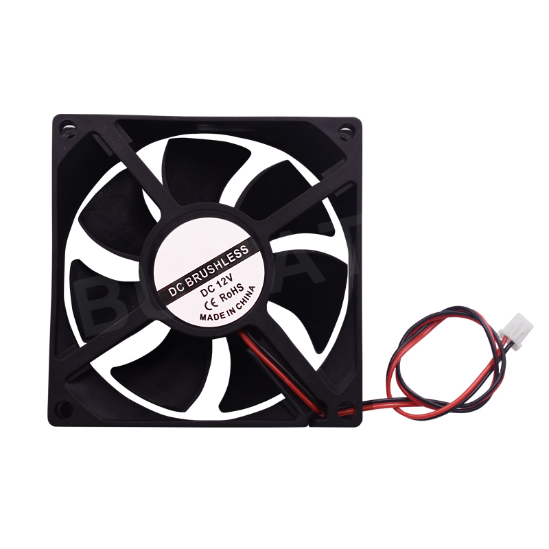 Mini 50mmx50mmx10mm DC 12V 3Pin Brushless Cooler 9-Blade Blower Cooling Fan 5010