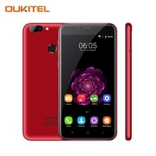 "Oukitel U20 Плюс 5.5 ""FHD Смартфон 2 ГБ RAM 16 ГБ ROM Отпечатков Пальцев ID MTK6737T Quad Core 1.5 ГГц Двойная Камера Android 6.0 4 Г LTE"