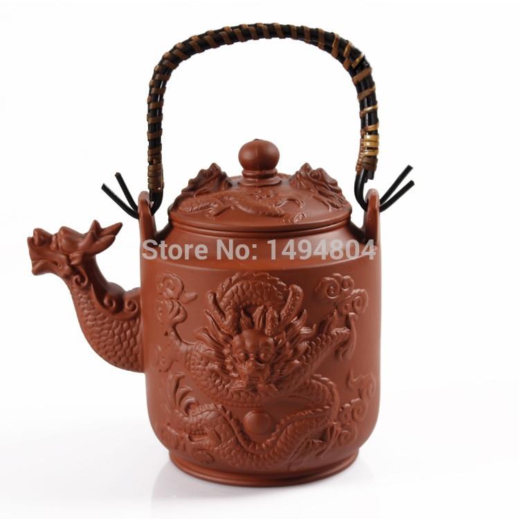 Hot Sale 2015 Teapot Dragon Pot 760ml yixing Clay Tea Set Genuine Kettle Kung Fu Handmade