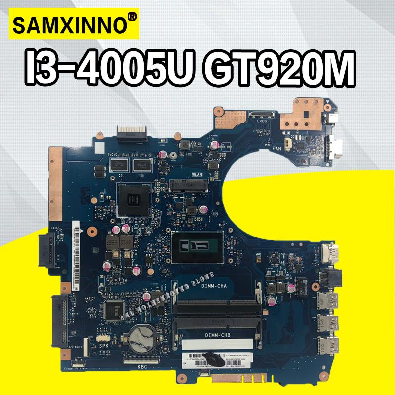 P552LJ Mainboard For ASUS P552 P552L P552LJ Laptop Motherboard 100% Tested With I3-4005 CPU GT920M 2GBP552LJ Mainboard For ASUS P552 P552L P552LJ Laptop Motherboard 100% Tested With I3-4005 CPU GT920M 2GB
