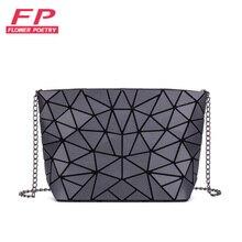 Handbag Tote Clutch Chain Messenger-Bags Shoulder-Crossbody-Bag Geometric Plain Women