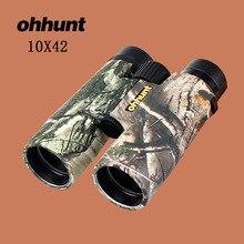 Best Buy ohhunt Military 10X42 Hunting Scope Telescope Camouflage Binoculars High Power Hunting Army HD Wide Angle binoculars