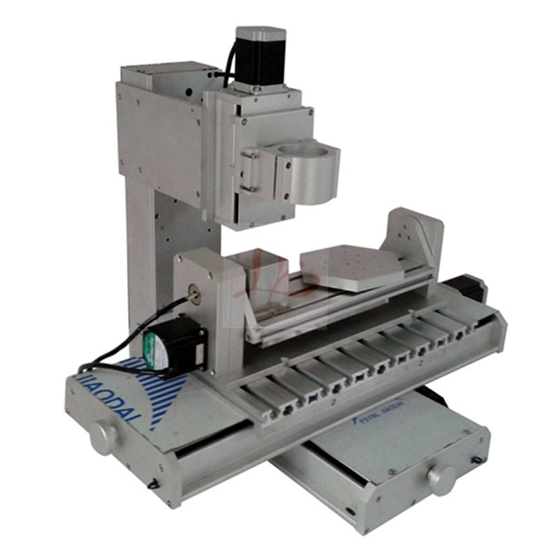 5axis CNC frame 3040 4axis column type engraving machine 3axis frame suitable DIY milling machine cnc 5 axis a aixs rotary axis plate type disc type for cnc milling machine