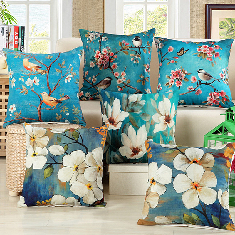 Wholesale Vintage Home Decor: Aliexpress.com : Buy Wholesale Vintage Flowers Pillow