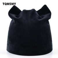 TQMSMY Women Autumn And Winter Beanie Hat Russian Warm Caps Women S Cat Beanies Ear Flaps