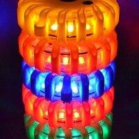 2 pcs LED Emergency Magneet Knipperend Night Lights Veiligheid Road Flare Noodverlichting met Magnetische Voet voor Auto Vrachtwagen boot