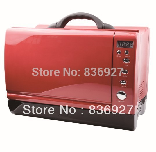 24V 12V Yacht Or Car Use Red Black Blue White Digital Timer Control Portable Microwave Oven