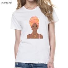 women clothes 2019 vogue Melanin Poppin t shirt femme pretty black girl tshirt female  harajuku clothes t-shirt tumblr tops tee цены