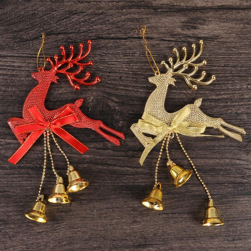 Nueva Marca de Venta Caliente Feliz Navidad Adornos de Árbol de Navidad Que Cuel