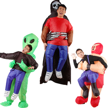 Grim Reaper/Alien Pick Me Inflatable Cosplay Costumes For Men Women Adult Party  Halloween Christmas Clothes Fancy Dress Toys