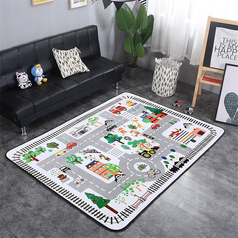 Cute Baby Crawling Mat Thickening Child Play Mats Baby Room Chronic Rebound Carpet Climb A Pad Non-Toxic Christmas Gifts
